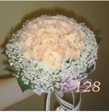 Букет свадебный № 36 цена 2000