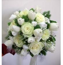 Букет свадебный № 38 цена 1700